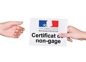 Certificat de non gages